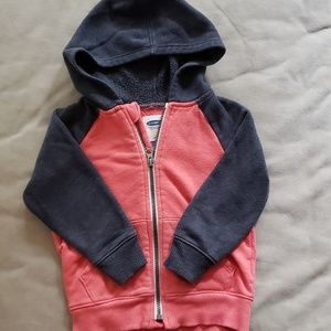Old Navy 2T zip up hoodie